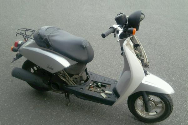 バイク廃車